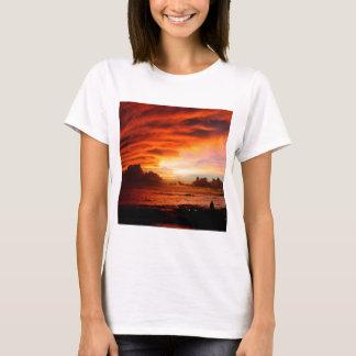 Sunset Oahu Evening T-Shirt