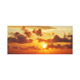 Sunset off Cape Hatteras Canvas Print