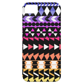 Sunset Ombre Aztec Pattern iPhone 5 Covers