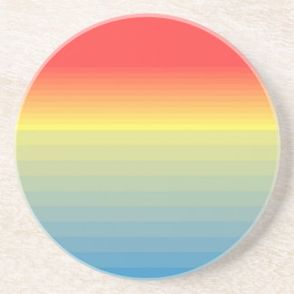 SUNSET OMBRE BEVERAGE COASTER