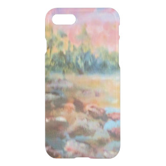 Sunset on a beach-Bright iPhone 8/7 Case