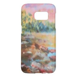 Sunset on a beach-Bright Samsung Galaxy S7 Case
