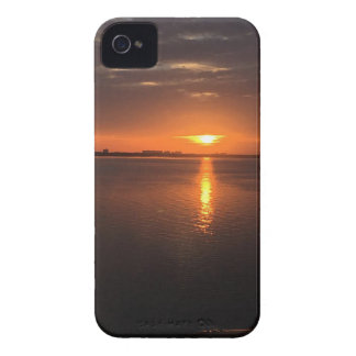 Sunset on a long summer day iPhone 4 cover
