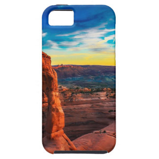 Sunset On Arches Park iPhone 5 Cases
