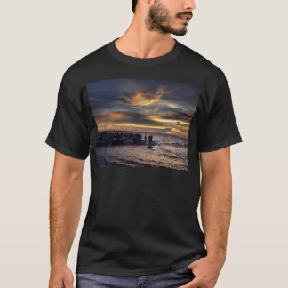 Sunset on Charleston Harbor T-Shirt