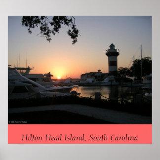 Sunset on Hilton Head Island Poster