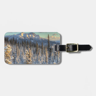 Sunset on Mount Fellows Bag Tag