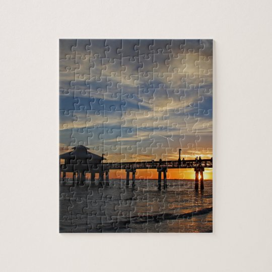 Sunset on My Shoulders Jigsaw Puzzle