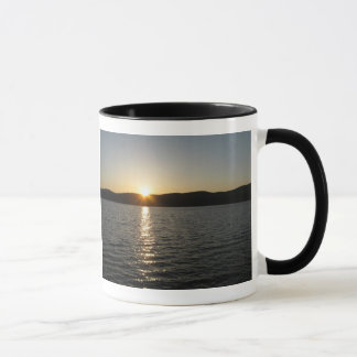 Sunset on Onota Lake: Horizontal Mug
