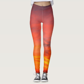 Sunset on the Atlantic Leggings
