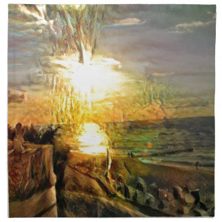 Sunset on the Beach Napkins