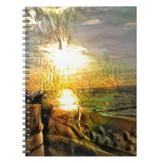 Sunset on the Beach Note Book