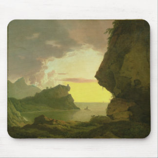 Sunset on the Coast near Naples, c.1785-90 Mouse Pad