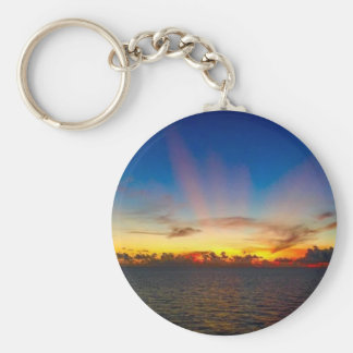 Sunset on The Gulf of Mexico Keychain