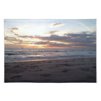 SUNSET ON THE GULF PLACEMAT