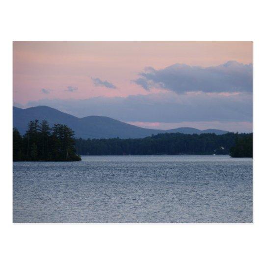 Sunset on the Lake 2 Postcard