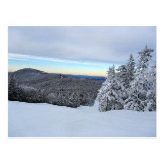 Sunset on the Mountain Postcard