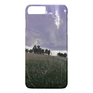 Sunset on the mountains iPhone 7 plus case