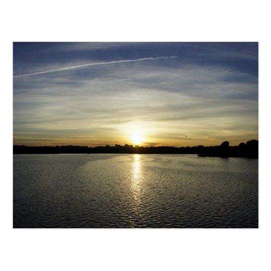Sunset on the Potomac Postcard
