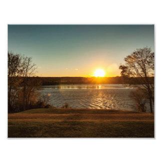 Sunset on the Rappahannock Photo Print