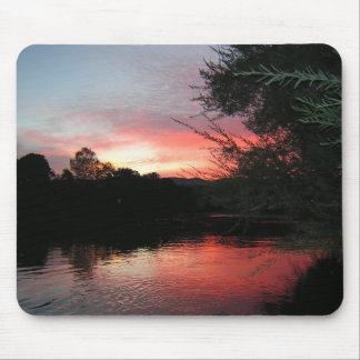 Sunset on the Rogue Mouse Pad