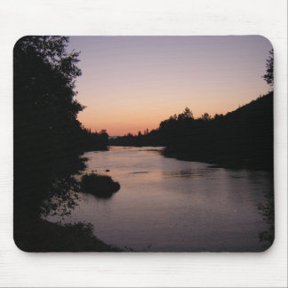 Sunset on the Rogue River, Grants Pass, OR Mouse Pad