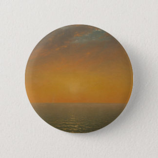 Sunset on the Sea 2 Inch Round Button