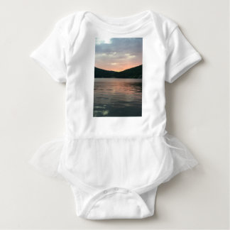 Sunset On The Water Baby Bodysuit