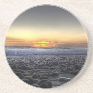 Sunset On The Water Beverage Coaster