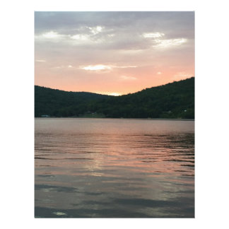 Sunset On The Water Letterhead