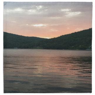 Sunset On The Water Napkin
