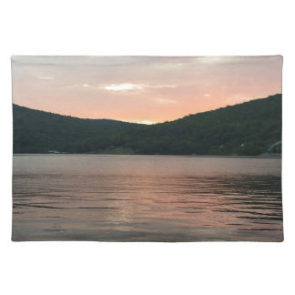 Sunset On The Water Placemat