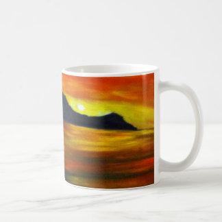 Sunset on Waikiki Beach Mugs