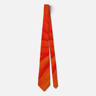 Sunset Orange Tie