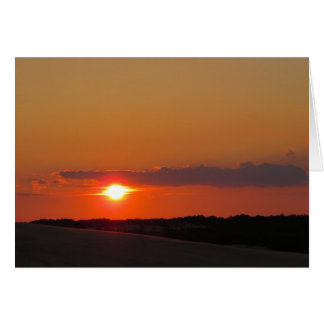 Sunset Outer Banks Greeting Card