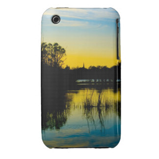 Sunset over a Lake iPhone 3 Case-Mate Cases