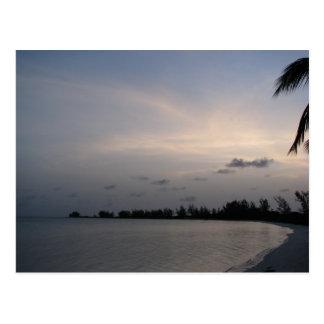 Sunset over Anegada Island Postcard