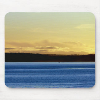 Sunset over Bainbridge Island Mouse Pad