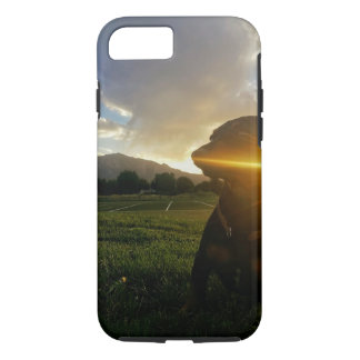 Sunset over Boulder Colorado iPhone 8/7 Case