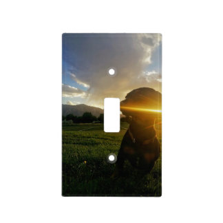 Sunset over Boulder Colorado Light Switch Cover