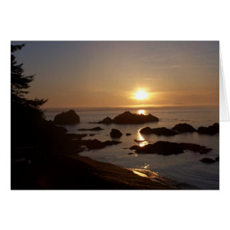 Sunset over Bowman Bay Card