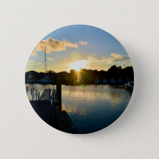 Sunset over Cape Cod 2 Inch Round Button