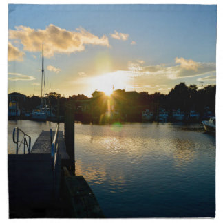 Sunset over Cape Cod Napkin
