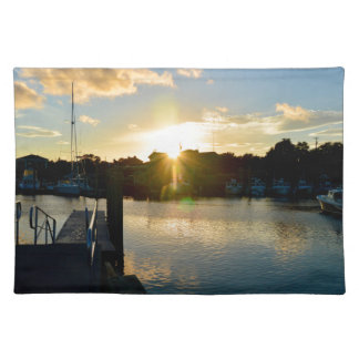 Sunset over Cape Cod Place Mats