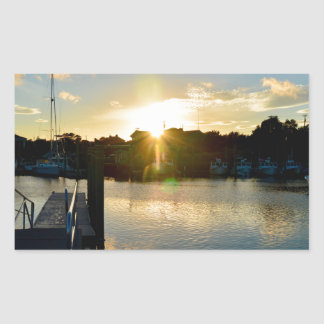 Sunset over Cape Cod Sticker