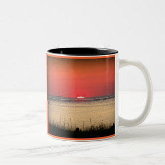 Sunset Over Cape Cod Two-Tone Coffee Mug