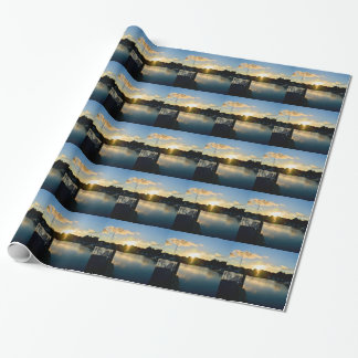 Sunset over Cape Cod Wrapping Paper