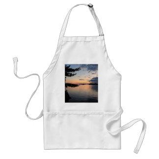 Sunset Over Fire Island Millinocket Lake Maine Standard Apron