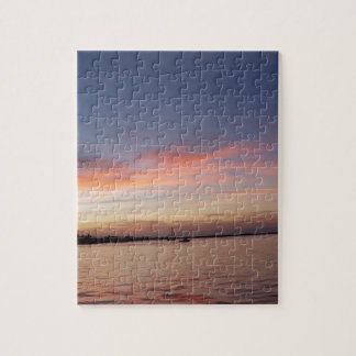 Sunset over Florida Bay, Key Largo FL Jigsaw Puzzle
