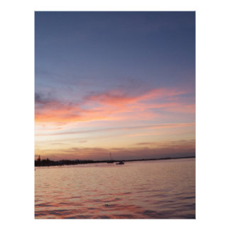 Sunset over Florida Bay, Key Largo FL Letterhead